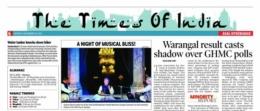 1 Times headline