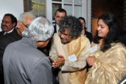 At a reception for Dr. APJ Abdul Kalam