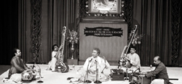 Pandit Suman Ghosh at Ramakrishna Mission Institute of Culture